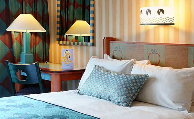 Disney's Hotel New York, room