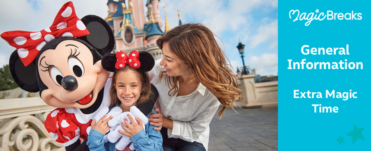 Girls playing at Disneyland Paris